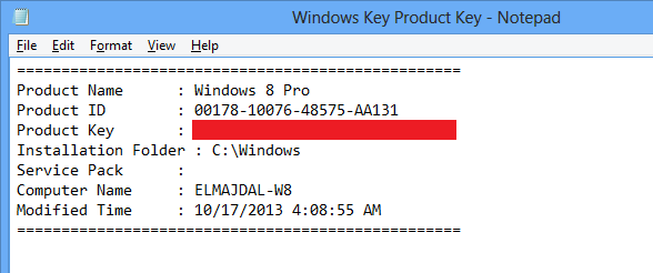 How To Find Out Your Windows Product Key | raatdeen