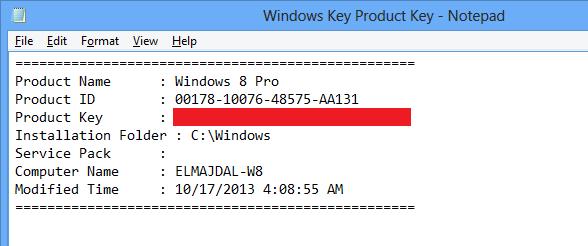 windows 8 pro x64 product key